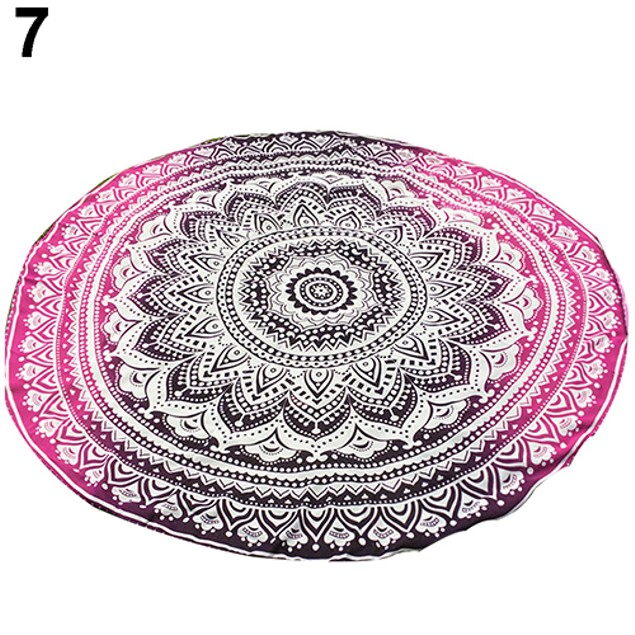 Indian Mandala Round Roundie Hippy Boho Beach Towel