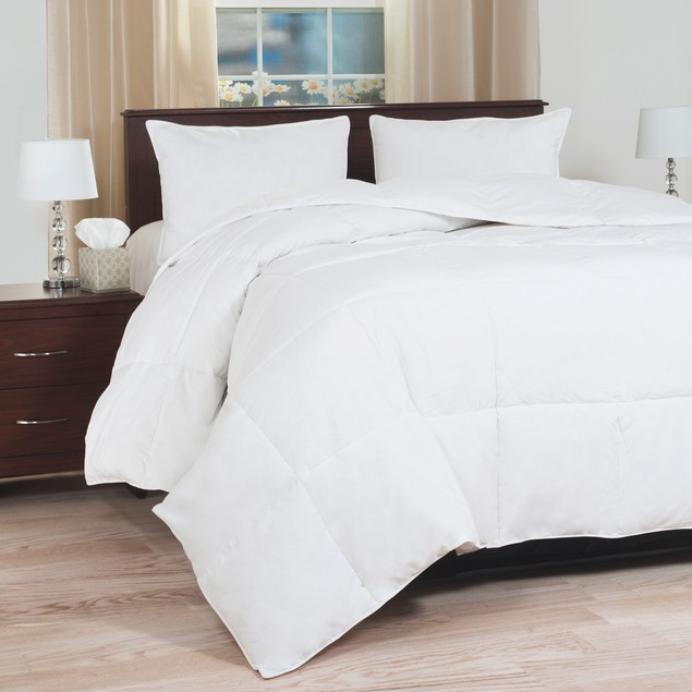 Lavish Home Down Blend Overfilled Bedding Comforter