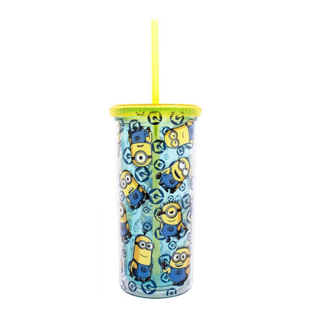 Despicable Me All Over Minions 20 oz Tall Travel Tumbler