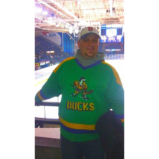 Adam Banks #99 Ducks Hockey Jersey