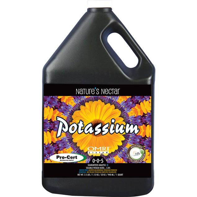 Nature's Nectar Potassium 0-0-5, 5 gal