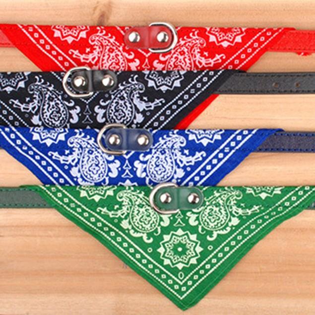 Dog Neck Scarf Bandana Collar Triangle Neckerchief