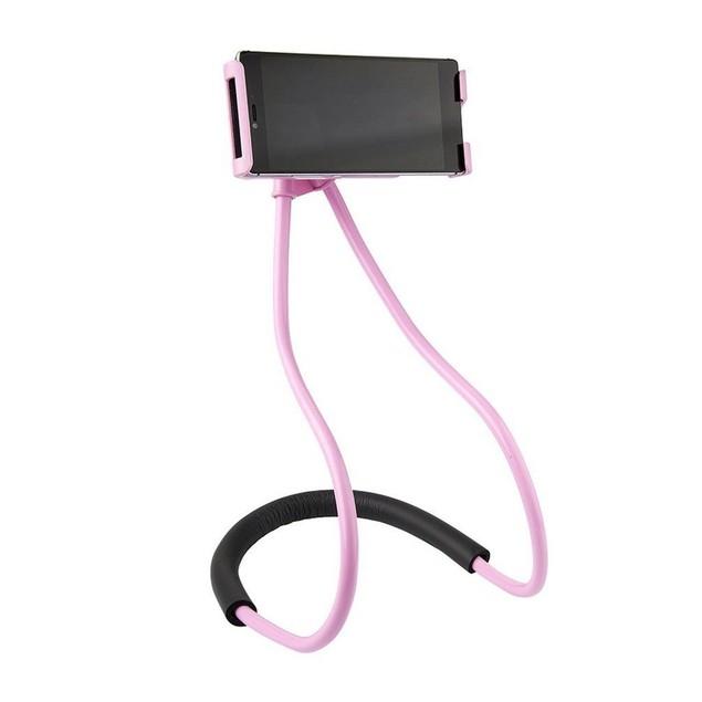 Universal Adjustable Neck Phone Holder Mount