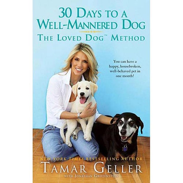 30 Days to a Well-Mannered Dog Book, Dog Training by Gallery Books