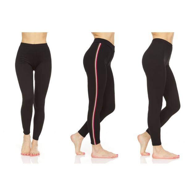 3-Pack Women's Everyday Stretch Slimming Leggings