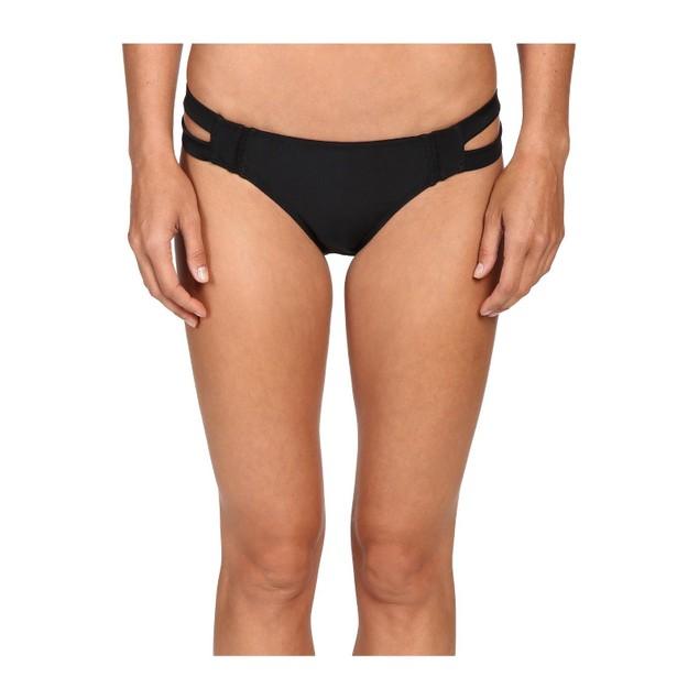 6 Shore Road by Pooja Women's Santiago Bikini Bottom, Black Rock, SZ X