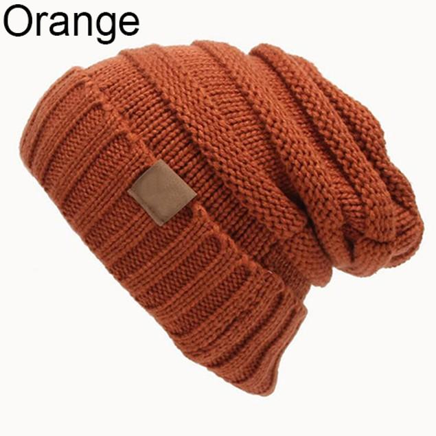 Women Fashion Winter Warm Woolen Yarn Crochet Hat