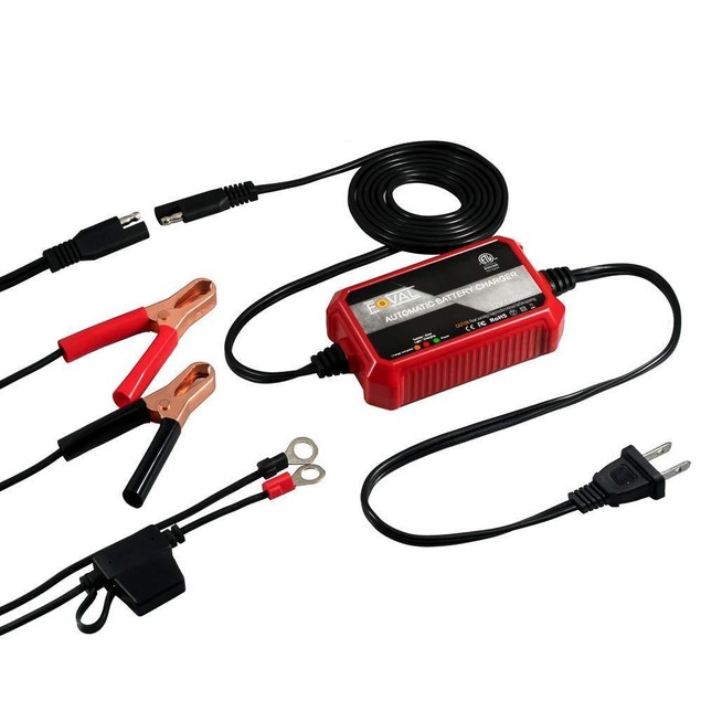 BM3B 6V and 12V Automatic Battery Charger  Maintainer