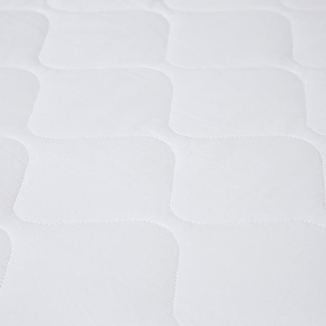 Bluestone Down Alternative Cotton Mattress Pad With Fitted Skirt