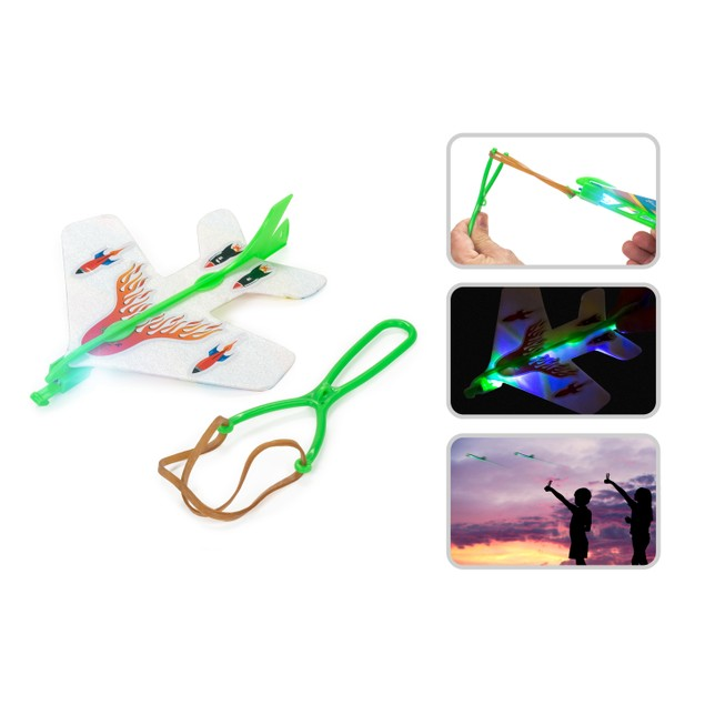 3-Pack LED Toy Planes