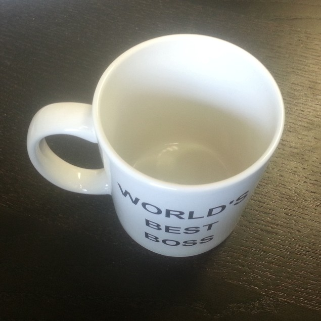 Michael Scott's World's Best Boss 11 oz Coffee Mug