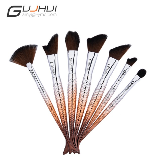 7PCS  Make Up Foundation  Blush Cosmetic Concealer Brushes 94