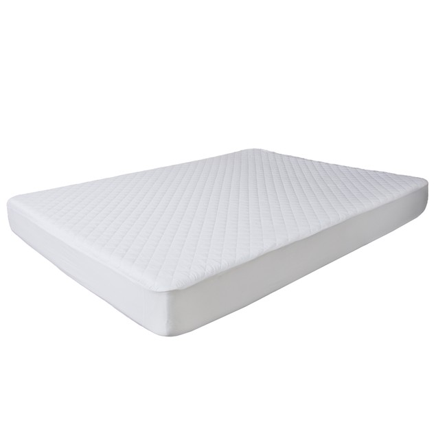 Bluestone Waterproof Mattress Pad With Expandable Fitted Skirt