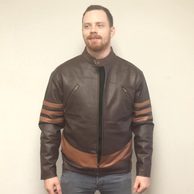 Logan Wolverine Leather Jacket