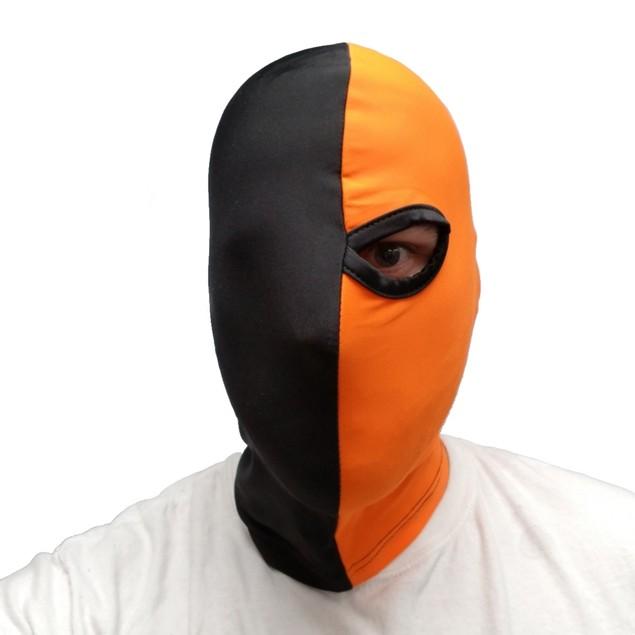 Deathstroke Orange And Black One-Eyed Mask
