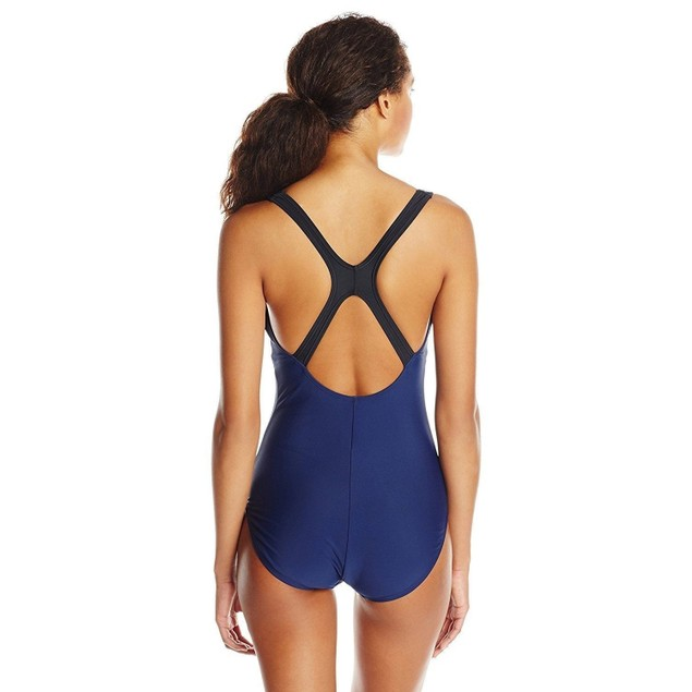 Speedo Contemporary Ultraback One-Piece Swimsuit, Nautical Navy, SZ: 1