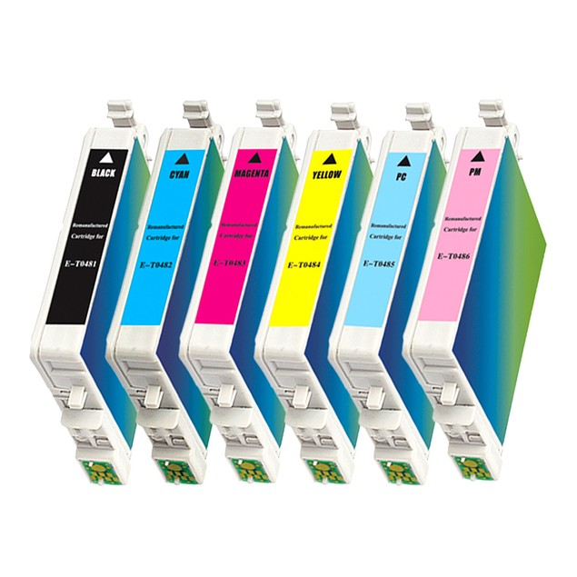 Epson T048 Remanufactured Ink - 6 pack (High Yield)