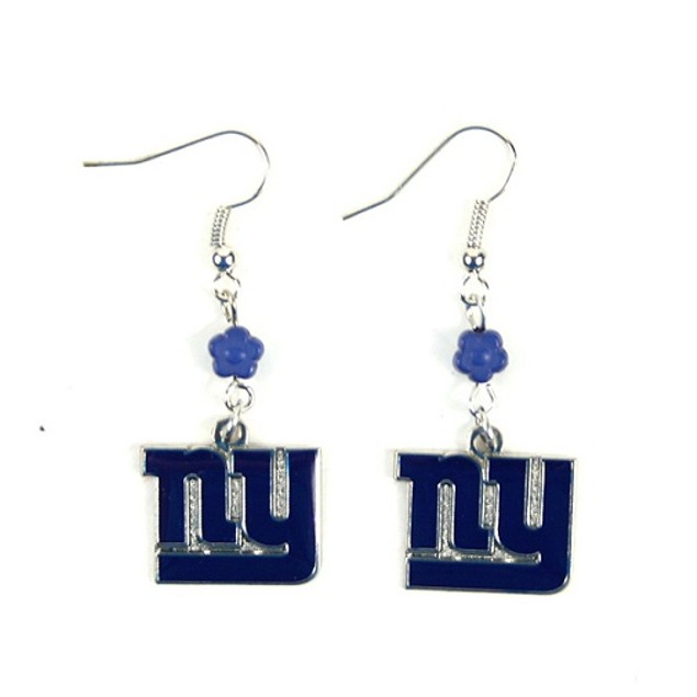 New York Giants NFL Sophie Style Dangle Earrings
