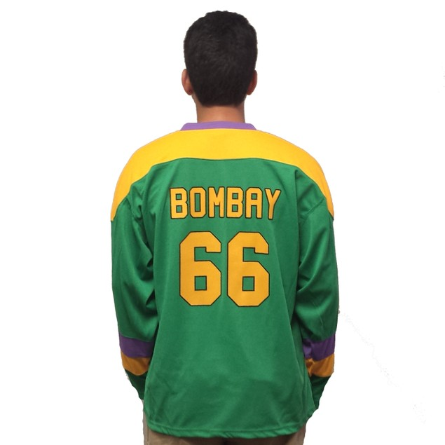 Gordon Bombay #66 Ducks Hockey Jersey