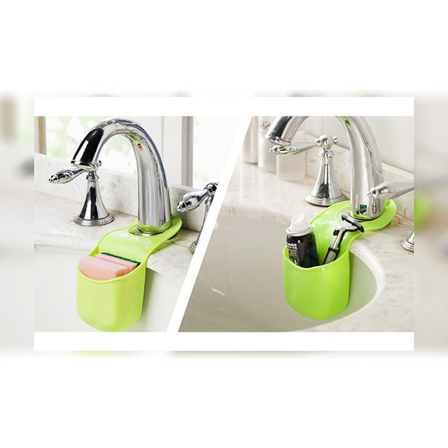 2-Pack Silicone Sink Caddy