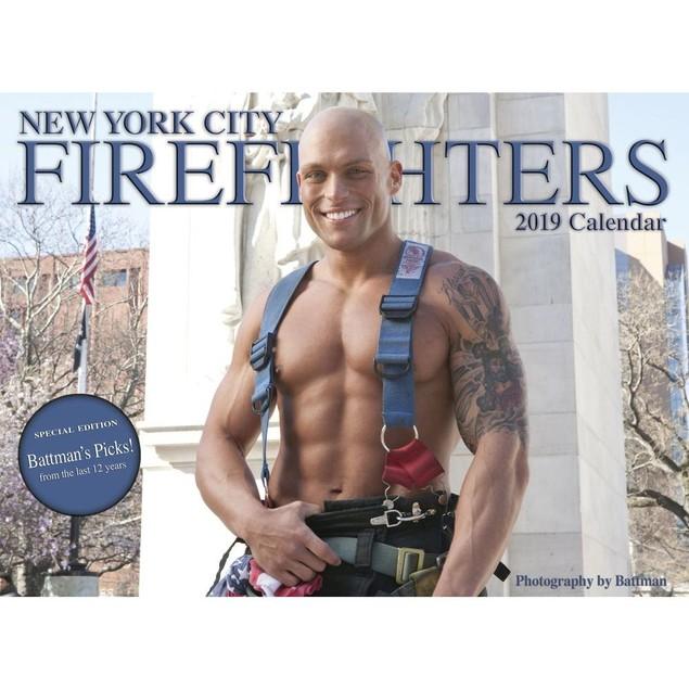 NYC Firefighters Wall Calendar, Hot Guys by Calendars