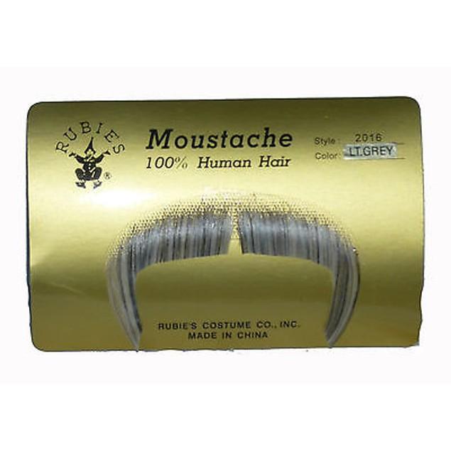 Light Grey Zapata Moustache
