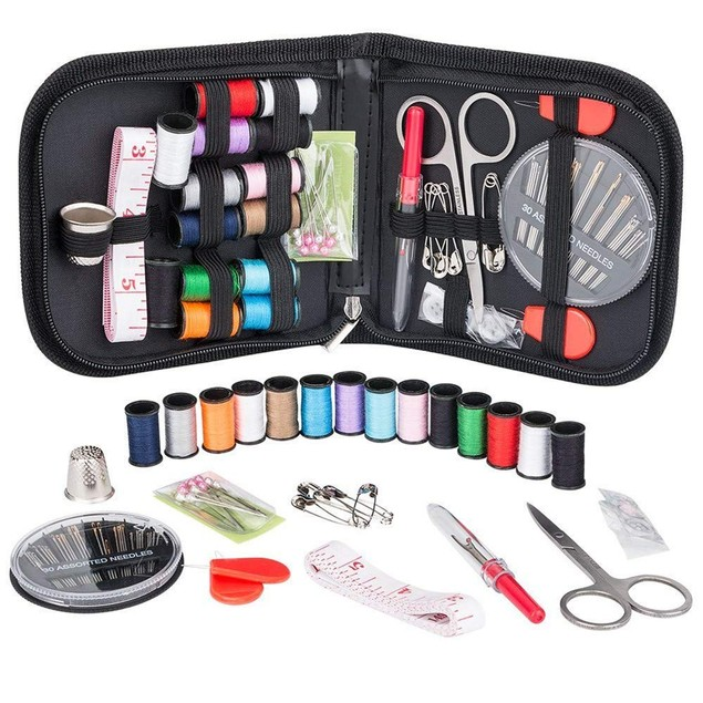 2-Pack 70-Piece Travel Sewing Set
