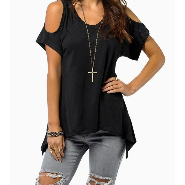 Cold Shoulder Tunic
