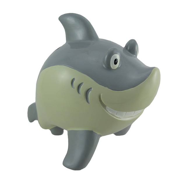 Smirking Shark Coin Bank Toy Banks