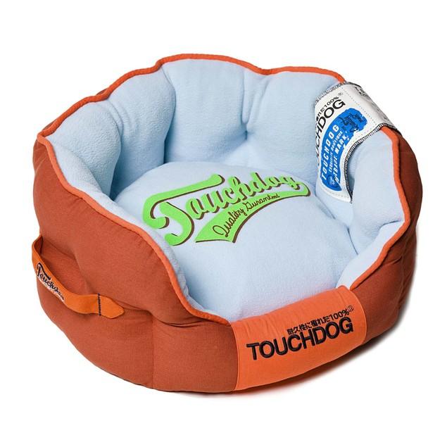 Touchdog Original Castle-Bark Ultimate Rounded Premium Dog Bed