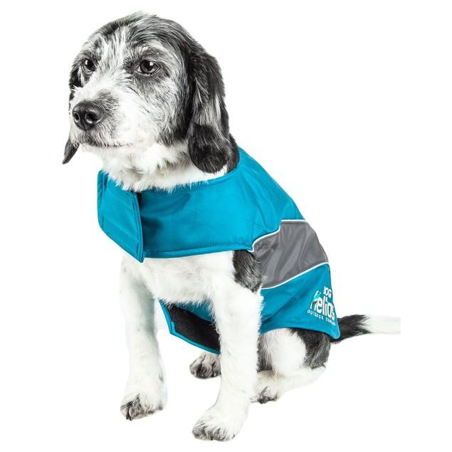 Helios Octane Softshell Neoprene Satin Reflective Dog Jacket
