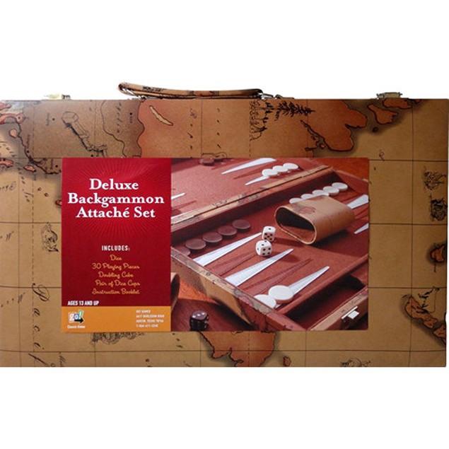 Deluxe Backgammon Attache Set, More Pop Culture by Go! Games