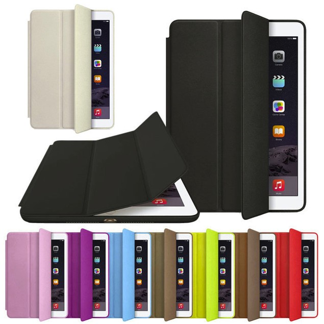 Smart Case For iPad Air 2 Leather Stand Magnetic Case Cover