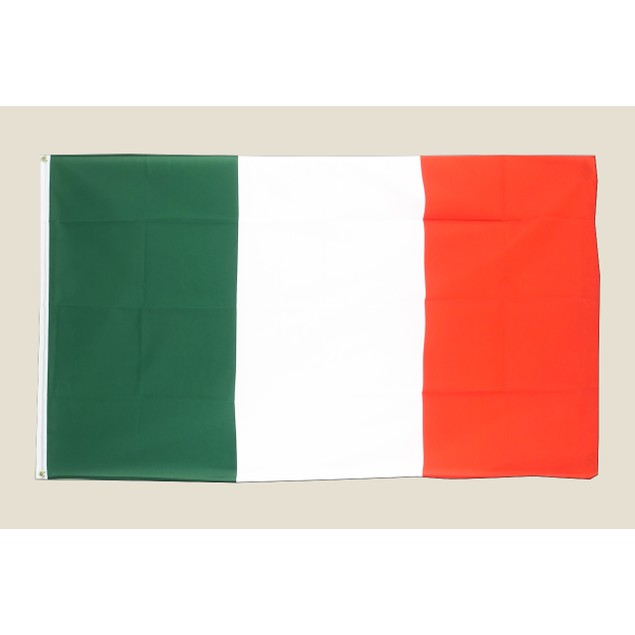 Italy 3x5 Flag Green White Red Polyester 2 Brass Grommets Country Italian
