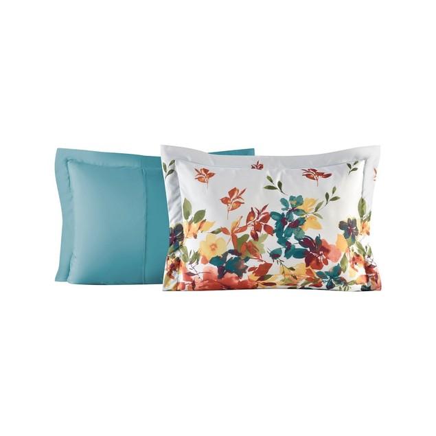 "Fairfield Square Collection Sophia 8 Pc 86""X86"" Queen Comforter Set,"
