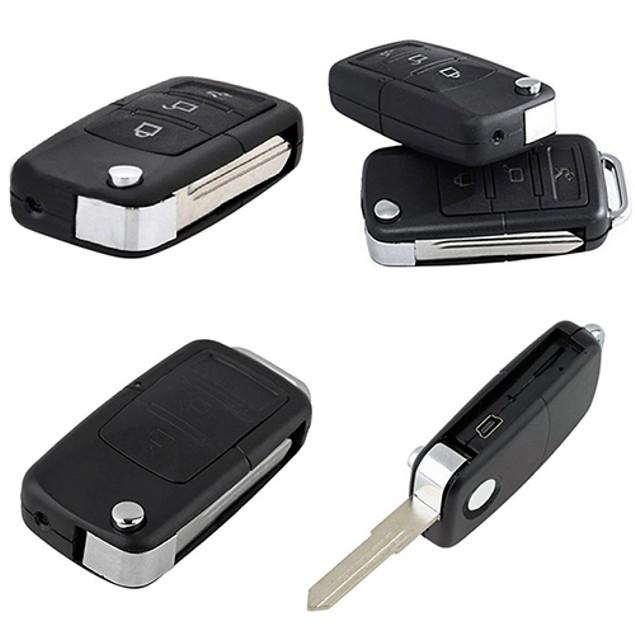 Mini Spy Car Key Chain DV Motion Detection Camera and Hidden Webcam