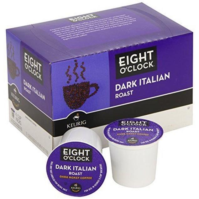 Eight O' Clock Dark Italian Roast Coffee Keurig K Cup 2 Box Pack