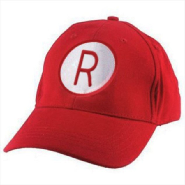 Rockford Peaches R Logo Red Baseball Cap