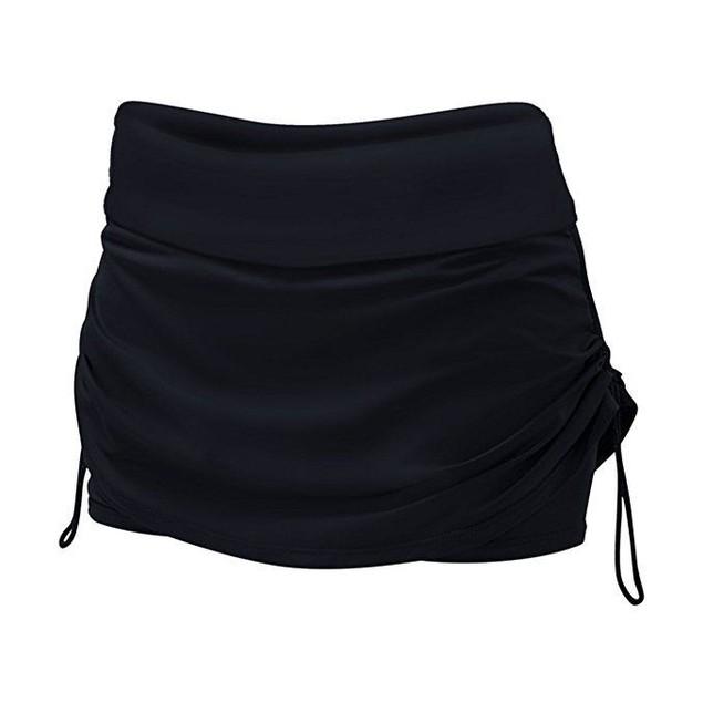 Wmns TYR Solids Black Della Active Mini Skorts SZ: L (10/12)