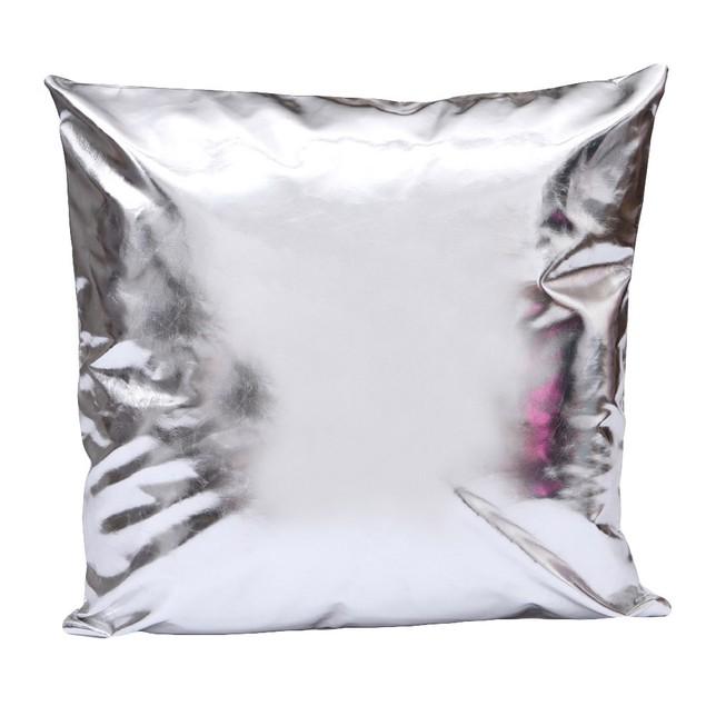 Leather Throw Pillow Case Cushion Cover Home Sofa Decor