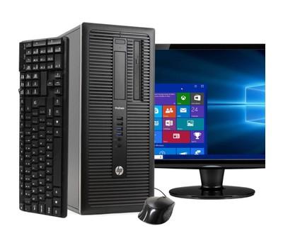 HP 600G1 Tower Computer Intel i5 8GB 240GB SSD Windows 10 Home 22