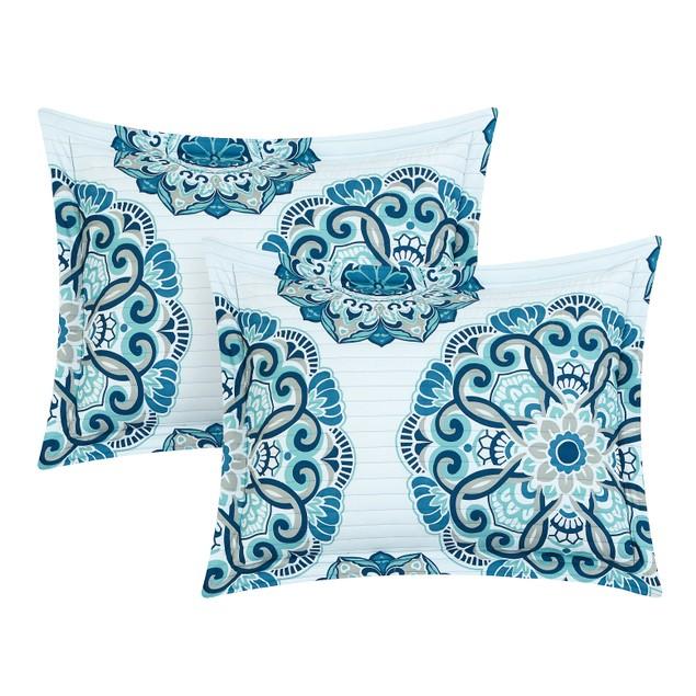 Chic Home 3/4 Piece Andolisa Super soft microfiber REVERSIBLE Quilt Set
