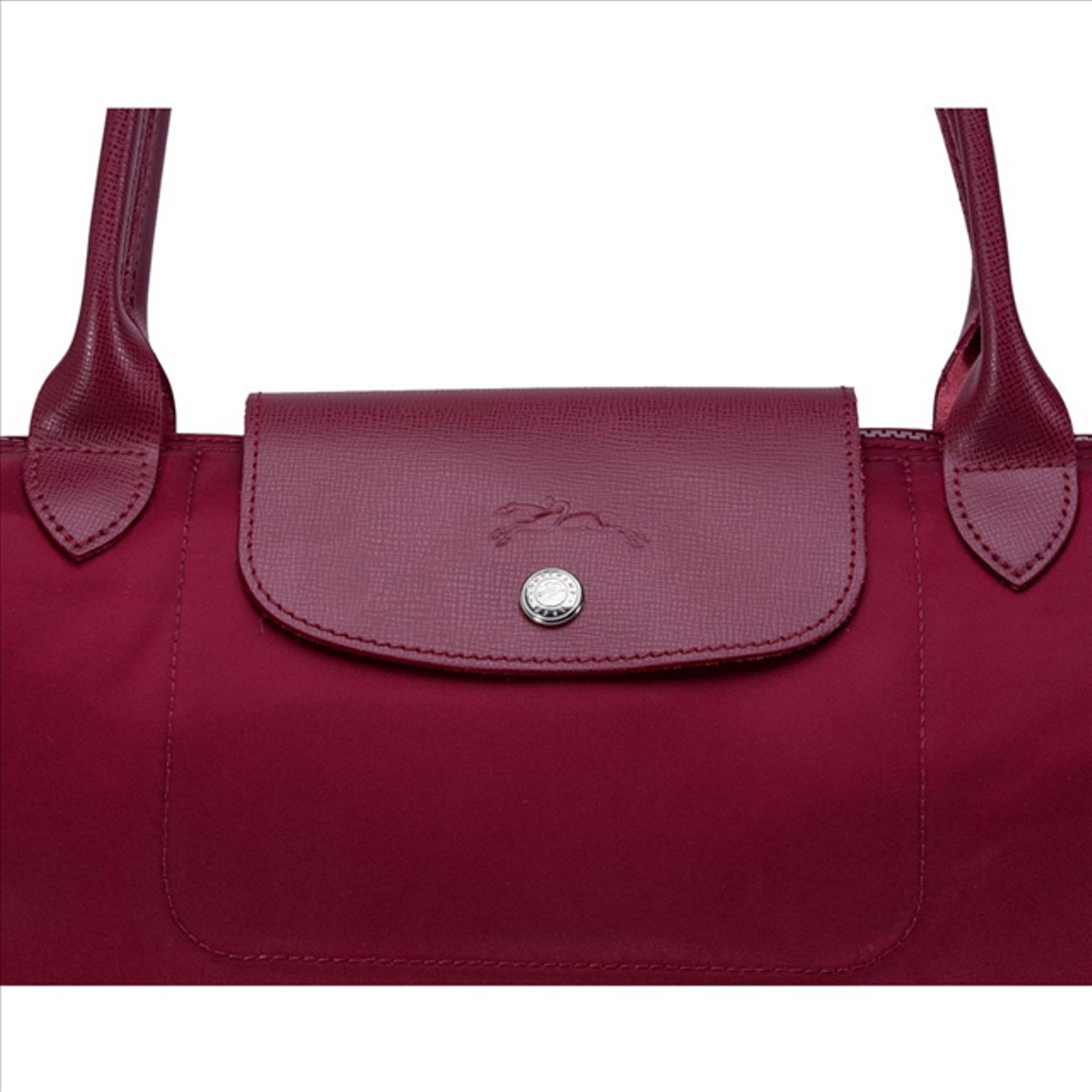 Longchamp Le Pliage Neo Large Tote Bag Wine 1899578009 Authentic Tanga Small