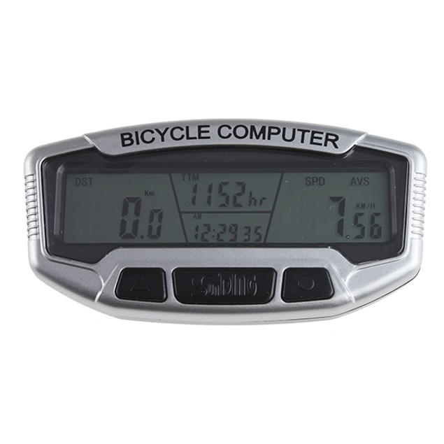 LCD Bicycle Computer Odometer Speedometer Velometer Backlight 28 Functions