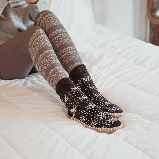 MUK LUKS ® Women's Chenille Short Slipper Socks