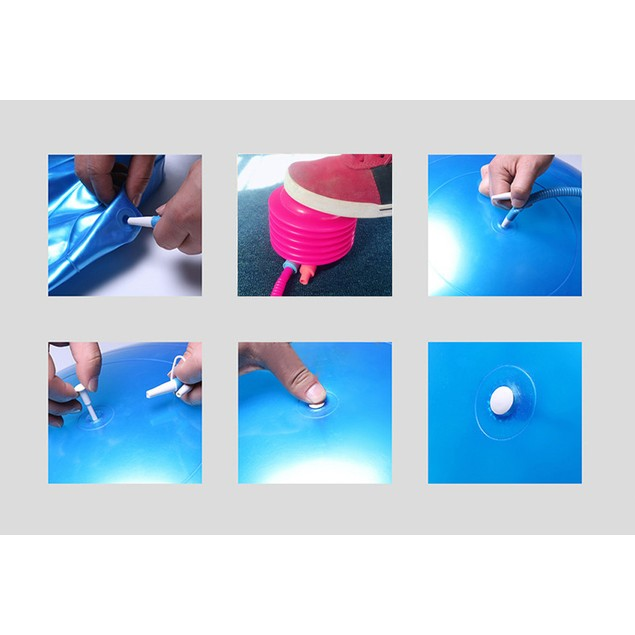 65cm Exercise FitnessThickening Yoga Ball+1x Inflator