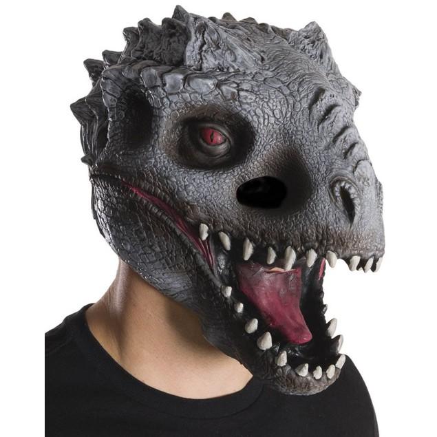 Indominus Rex Jurassic World Adult Vinyl Mask Dinosaur Head Face Park Movie