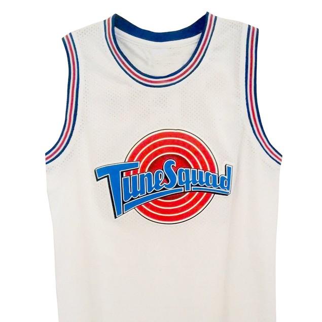 Tweety Bird #1/3 Tune Squad White Basketball Jersey
