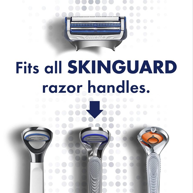 Gillette SkinGuard Sensitive Refill Cartridges, 12 count