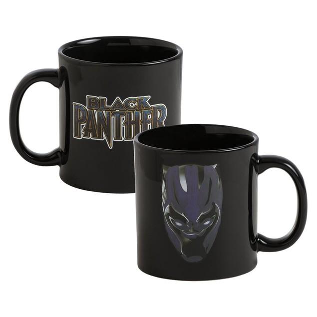 Marvel Black Panther 20 oz. Heat Reactive Mug